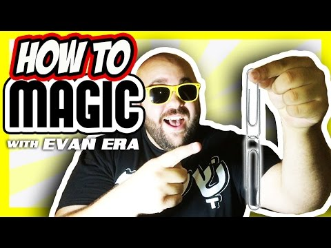 10 Magic Tricks with Paper Clips