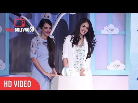 Genelia D'Souza Launch Dove Baby Care | Viralbollywood