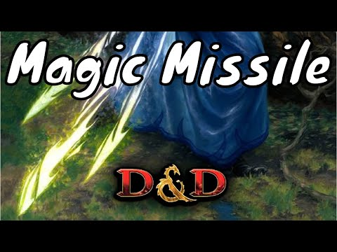 Magic Missile D&D 5E Spell