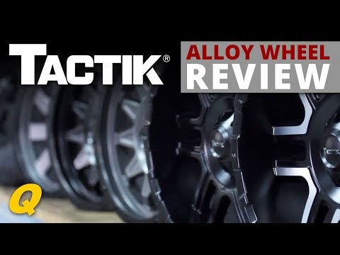 New Tactik Alloy Wheels for Jeep Wrangler JK