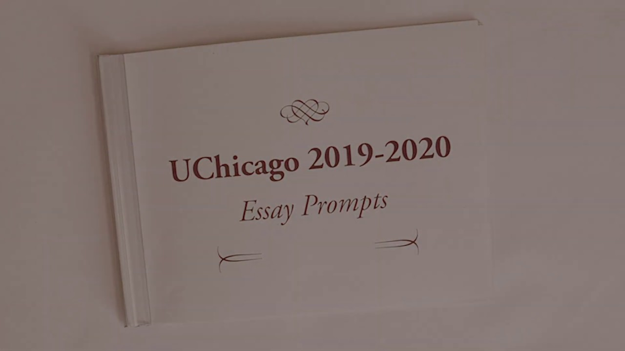 uchicago essay prompts   revealed