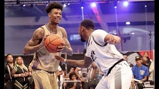 Blueface Wins MVP At BET Awards Celebrity Basketball Game