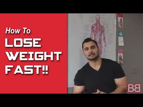 How to lose weight FAST! Part-1 (Hindi / Punjabi)