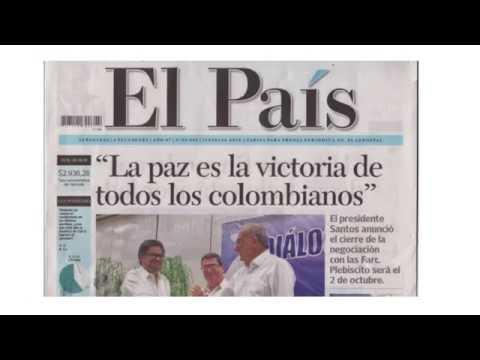 La paz de Colombia, una buena noticia para el mundo