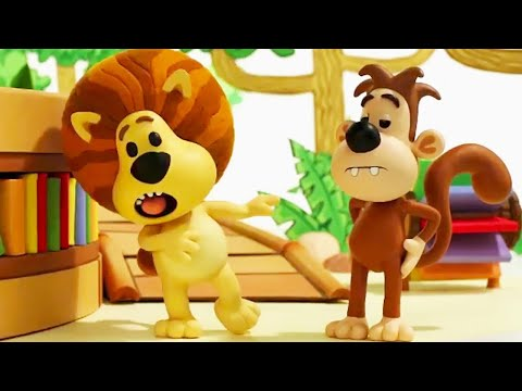 Raa Raa The Noisy Lion Official | Clangy Bangy Crocky | Full Episodes | Kids Cartoon