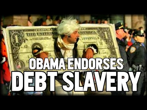 OBAMA: STUDENT DEBT SLAVERY IS GOOD FOR THE ECONOMY