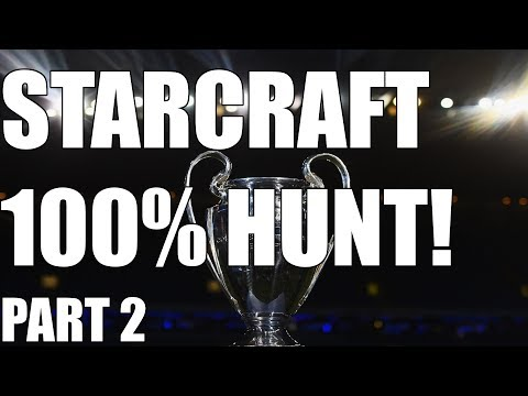 THE 100% STARCRAFT ACHIEVEMENT HUNT - End of Wings start Heart of the Swarm (Part 2)