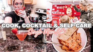 I WAS GOING TO LOSE IT| COOK, COCKTAIL & SELF CARE WITH ME 2020| Tres Chic Mama