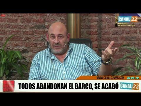"""Santiago Cúneo: """"Hay que ser satánico para llegar a este punto..."""""""