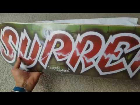 Unboxing SUPREME x LEE QUINONES Skateboard Deck SS18 Week 11! 5 11 ... d35a6e477d6