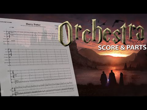 Harry Potter - Full Orchestra - Score + Parts
