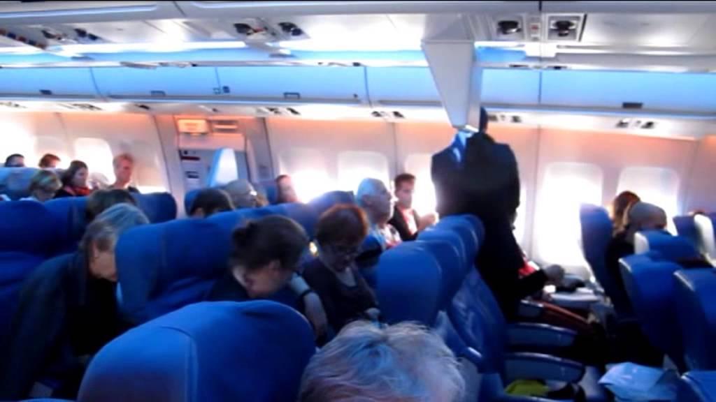 Air transat airbus a 310 300 flight youtube for Avion air transat interieur