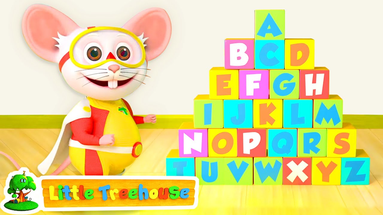 Alphabet Hunt Game Song | ABC Song | Learn A to Z | ABC's for Kids | Nursery Rhymes & Baby