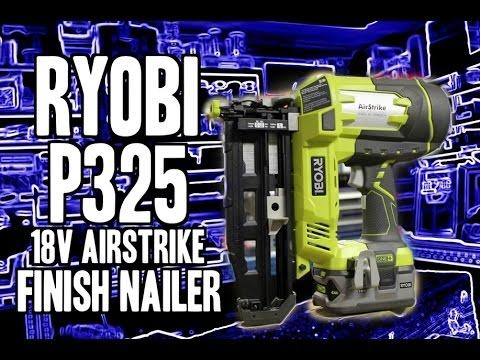 Ryobi Airstrike Nailer Manual