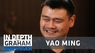 Yao ming: dunking felt disrespectful