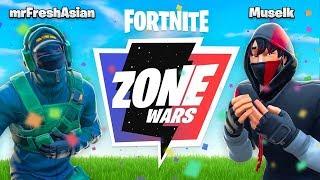 YOUTUBER VS. PRO In ZONE WARS
