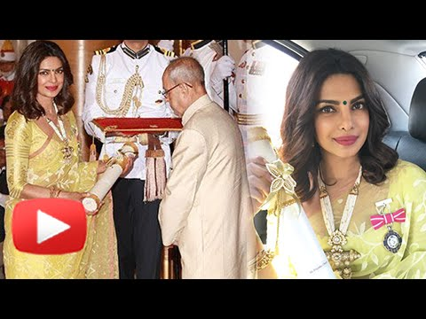 Priyanka Chopra REACTION On Receiving The Padma Shri Award