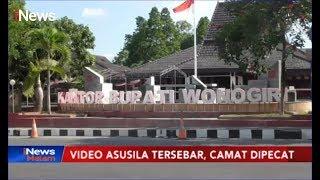 Video Asusila Tersebar, Camat di Kabupaten Wonogiri Dipecat - iNews Malam 29/11