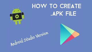 how to create APK file for Distribution