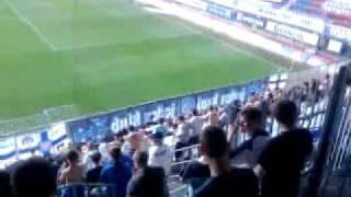 Olomouc-Slovácko před zápasem v sektoru