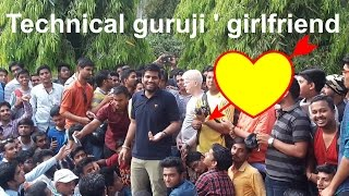 Technical guruji talking about his Girlfriend | Pune meetup with Technical guruji and Geekyranjit