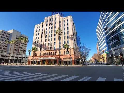 Así Es La Ciudad De San Jose California | Tour Downtown City Of San Jose 2021
