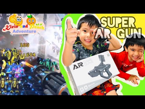 Super AR Gun   Best Augmented Virtual Reality Mobile Game App For Kids