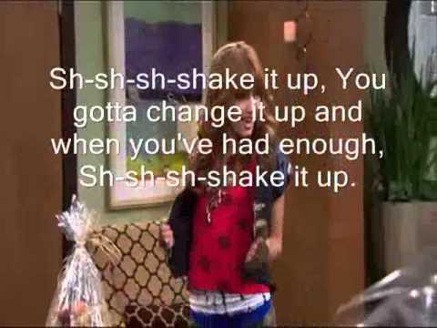 Shake It Up Theme - Lyrics