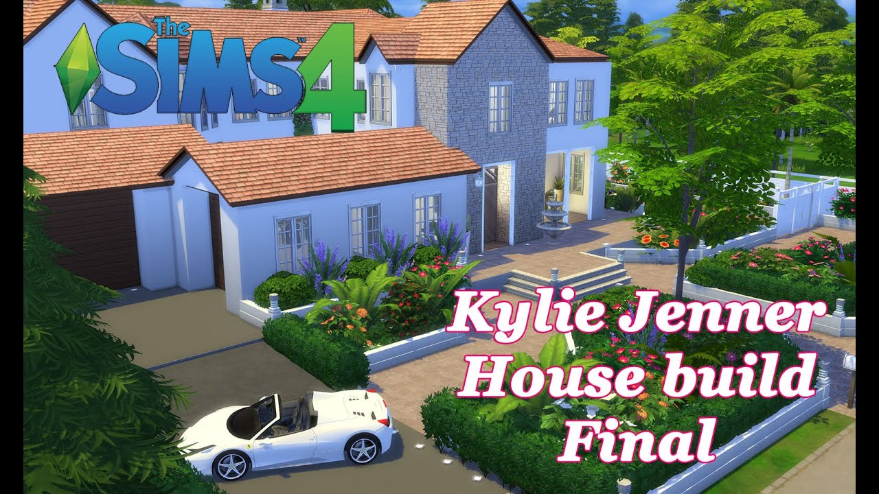 Open Floor Plan House Plans With Photos The Sims 4 Kylie Jenner House Build Cc House Tour