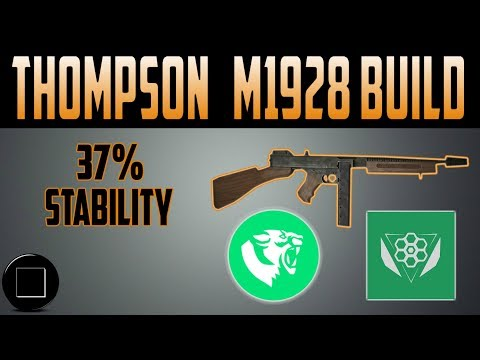 The Division - Thompson M1928 Build