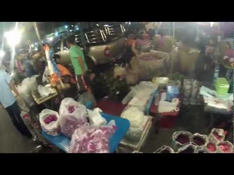 Pak Khlong Flower Market 18 10 2012