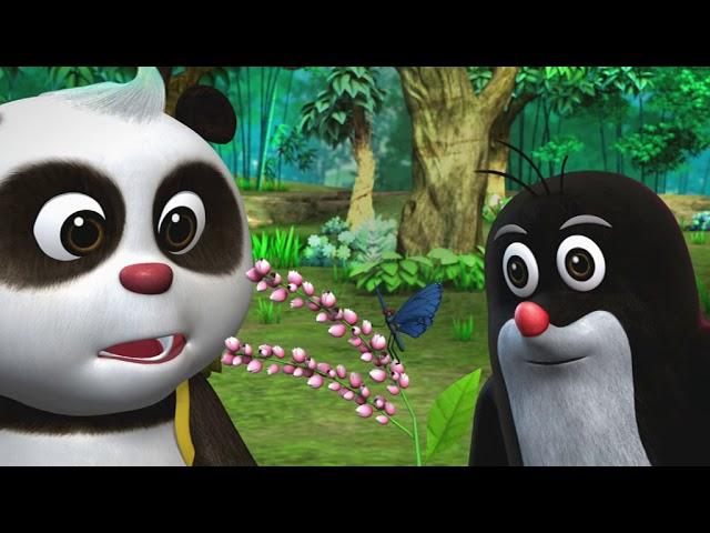 Krtek a panda epizoda 21 - Kouzelné základní barvy