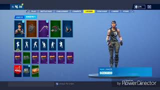 Fortnite Battle Roayle - Scenario Emote With 4 different Skins *IMPROVED* (Xbox)