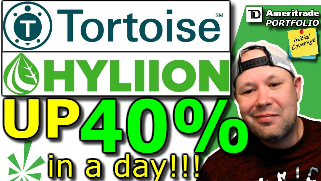 Tortoise Acquisition Corp./Hyliion stock (SHLL)   Up 40% in one day!!   Next Nikola!!   SHLL stock