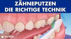 Zähneputzen - Die richtige Technik ©