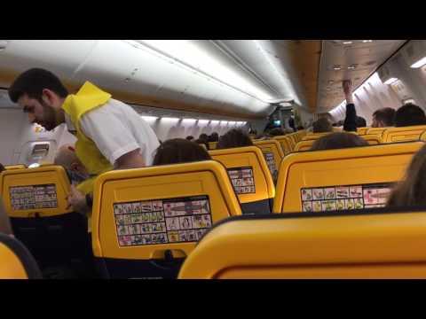 Ryanair leaving Szczecin