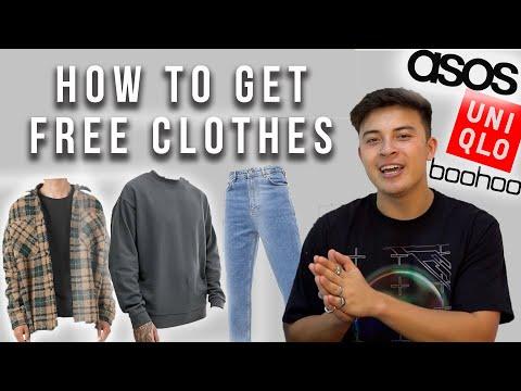How To Get Free Clothes From Brands (Not Clickbait)