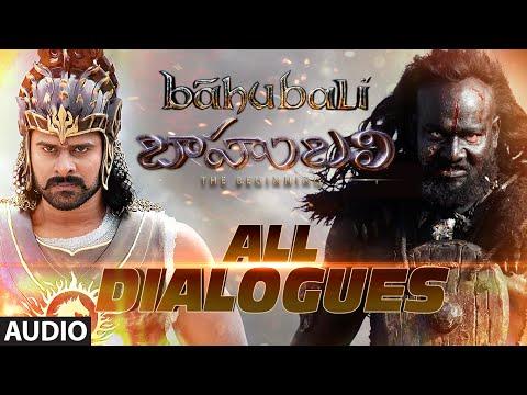 Baahubali Dialogues || Jukebox ||  Prabhas, Rana Daggubati, Anushka Shetty, Tamannaah Bhatia