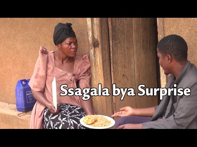 Ssagala bya surprise - Ugandan Luganda Comedy skits.