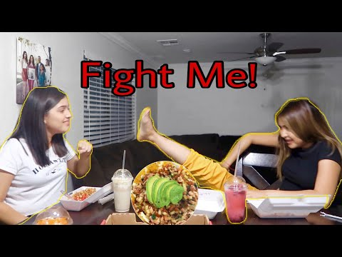 Family Roasting Each Other ~ Mukbang!