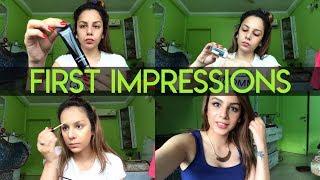 AFFORDABLE DRUGSTORE MAKEUP | FIRST IMPRESSIONS