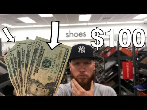 WHAT CAN $100 BUY YOU AT NORDSTROM RACK??? (SNEAKERS INSIDE)