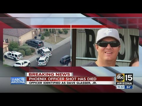 Police officer shot in Phoenix has died