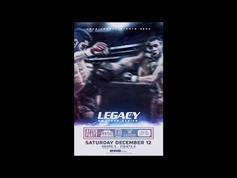 Legacy Amateur Series 21 - Rick Gonzalez vs Chris Mitchell
