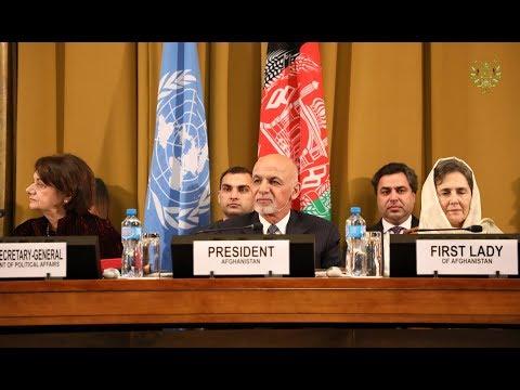 President Ashraf Ghani's Remarks at Geneva Conference on Afghanistan (28/11/2018)