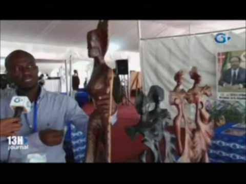 Culture   Fin du salon internationale du livre et des arts de Libreville