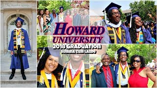 Howard Graduation 2018 | Summa Cum Laude, Chadwick Boseman, Speakers & More
