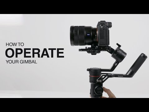 Gimbal Tutorial - how to operate your Manfrotto gimbal