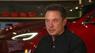 Tesla CEO Elon Musk talks Model 3 production delays