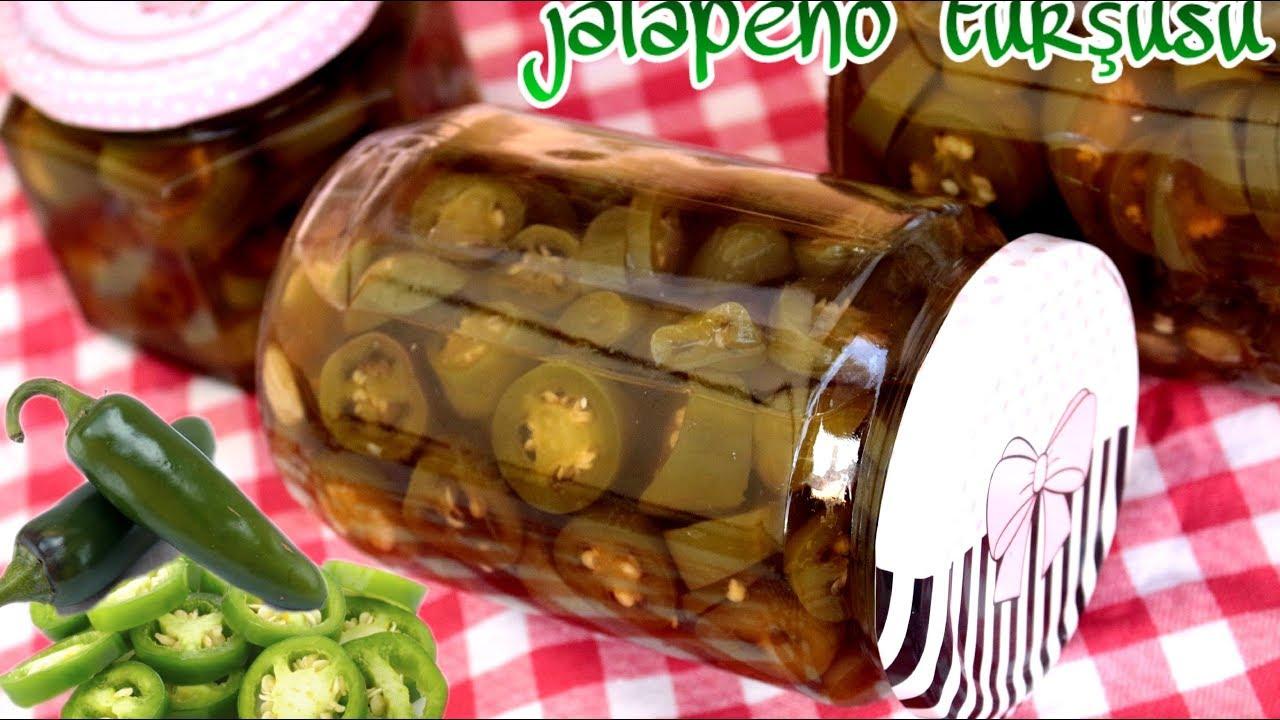Jalapeno Meksika Biberi Turşusu Videosu